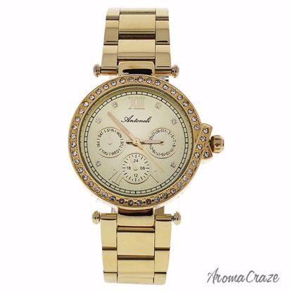Antoneli AL0519-01 Gold Stainless Steel Bracelet Watch for W