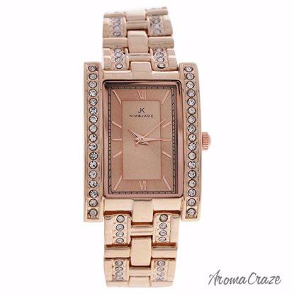 Kim & Jade 2060L-GPGP Rose Gold Stainless Steel Bracelet Wat