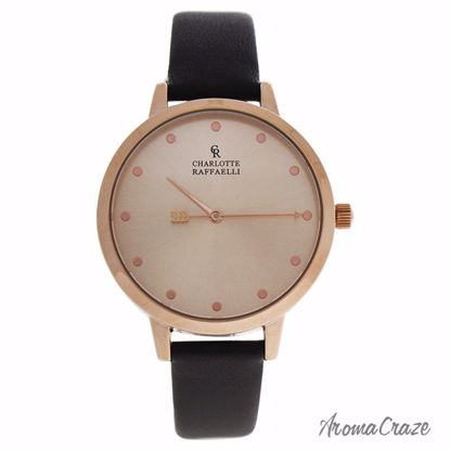 Charlotte Raffaelli CRB006 La Basic Rose Gold/Brown Leather
