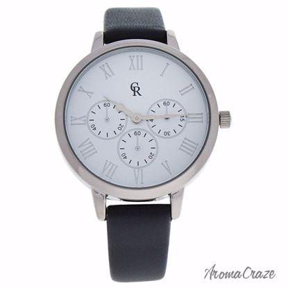 Charlotte Raffaelli CRB010 La Basic Silver/Grey Leather Stra