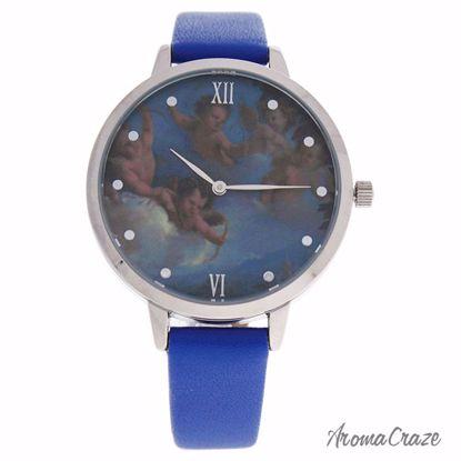 Charlotte Raffaelli CRR007 La Romance Silver/Blue Leather St
