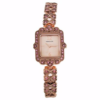 Manoush MSHLLRG Loulou Rose Gold Stainless Steel Bracelet Wa