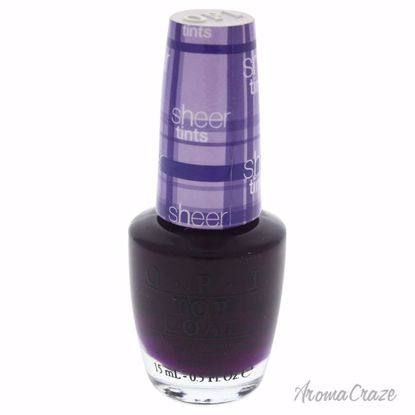 OPI Top Coap # NT S03 Don't Violet Me Down  for Women 0.5 oz
