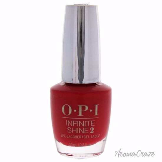 OPI Infinite Shine 2 Lacquer # IS L09 Unequivocally Crimson for Women 0.5 oz