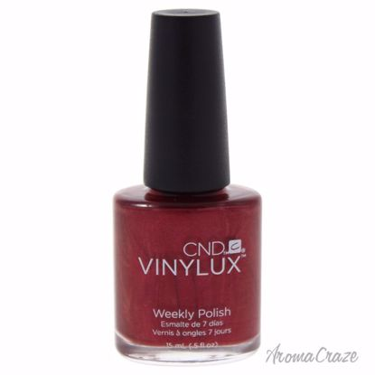 CND Vinylux Weekly Polish # 139 Red Baroness Nail Polish for