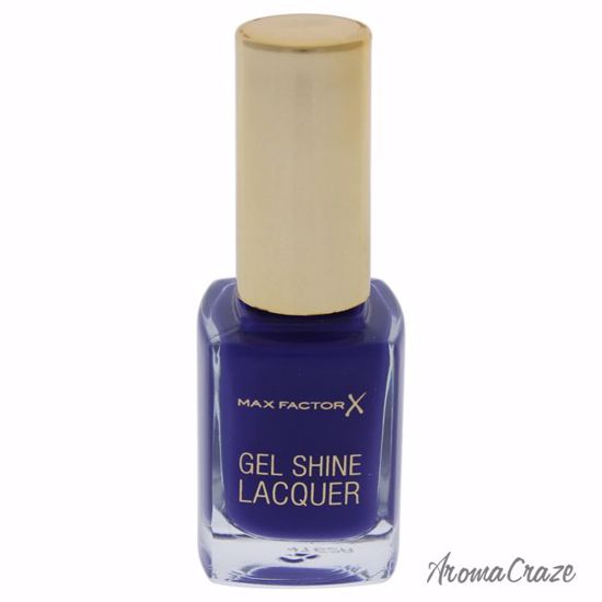 Max Factor Gel Shine Nail Lacquer # 35 Lacquered Violet for Women 0.37 oz - Nails Polish and Nail Colors | Popular Nail Colors | Best Nail Polish Colors | Holiday Nail Colors | Nail Polish Colors For Sale | Nail polish Online | AromaCraze.com