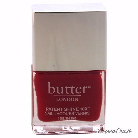 Butter London Patent Shine 10X Nail Lacquer Her Majesty\'s Red for ...