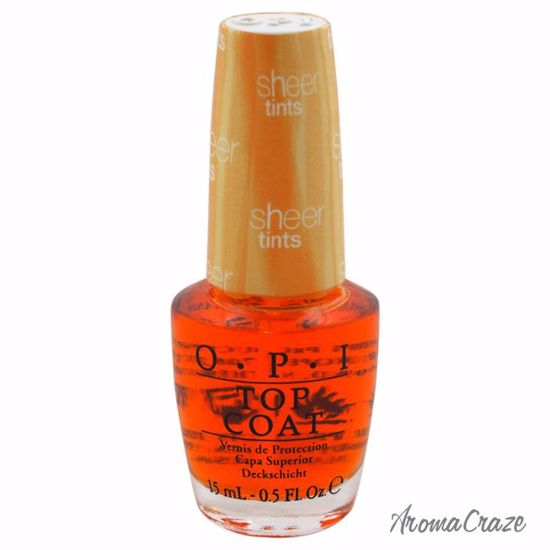 OPI Top Coat # NT S01 I\'m Never Amberrassed Nail Polish for Women ...