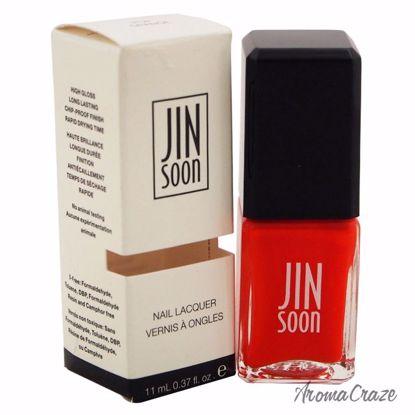 JINsoon Nail Lacquer Pop Orange Nail Polish for Women 0.37 o