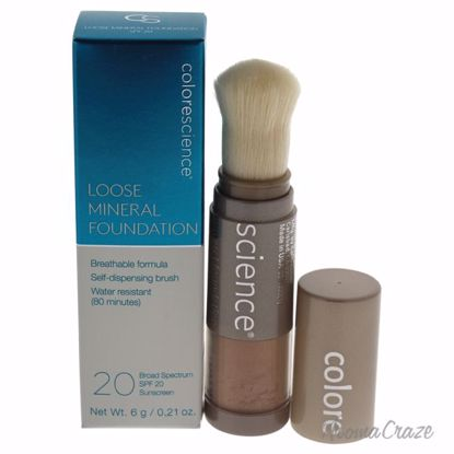 Colorescience Loose Mineral Foundation Brush SPF 20 Tan Natu