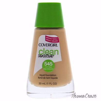 CoverGirl Clean Sensitive Liquid # 545 Warm Beige Foundation