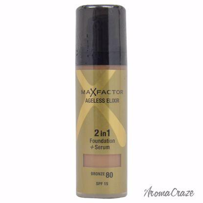 Max Factor Ageless Elixir 2in1 SPF 15 # 80 Bronze Foundation