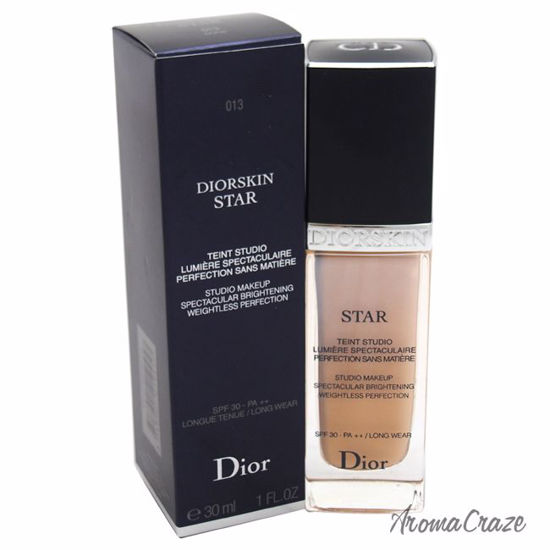 4828ca53ec0c Dior by Christian Diorskin Star Studio Makeup Spectacular Brightening SPF  30   013 Dune Foundation for Women 1 oz