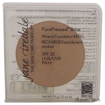Jane Iredale PurePressed Base Mineral SPF 20 Amber Foundation (Refill) for Women 0.35 oz - Face Makeup Products | Face Cosmetics | Face Makeup Kit | Face Foundation Makeup | Top Brand Face Makeup | Best Makeup Brands | Buy Makeup Products Online | AromaCraze.com