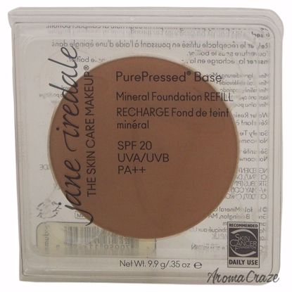 Jane Iredale PurePressed Base Mineral SPF 20 Autumn Foundation (Refill) for Women 0.35 oz - Face Makeup Products | Face Cosmetics | Face Makeup Kit | Face Foundation Makeup | Top Brand Face Makeup | Best Makeup Brands | Buy Makeup Products Online | AromaCraze.com