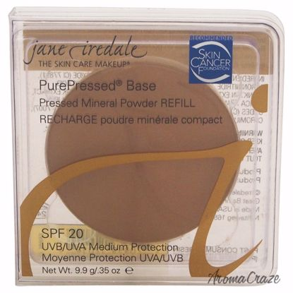 Jane Iredale PurePressed Base Mineral SPF 20 Fawn Powder (Refill) for Women 0.35 oz - Face Makeup Products | Face Cosmetics | Face Makeup Kit | Face Foundation Makeup | Top Brand Face Makeup | Best Makeup Brands | Buy Makeup Products Online | AromaCraze.com