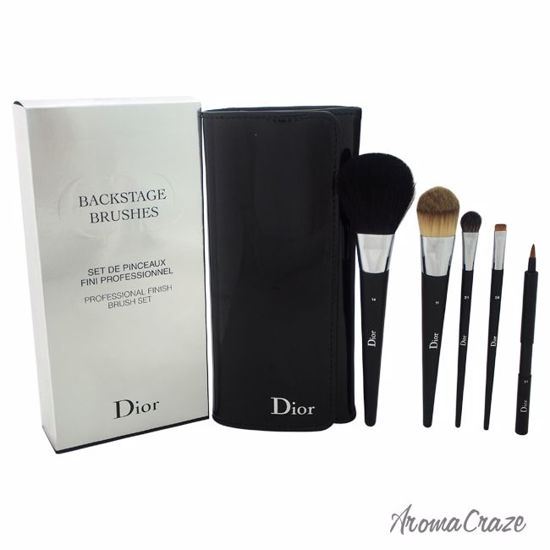 7c8d6399f6 Christian Dior BackStage Brushes Professional Finish Brushes Set Light  Coverage Powder Brush # 14, Light Coverage Fluid Foundation Brush # 11,  Medium ...