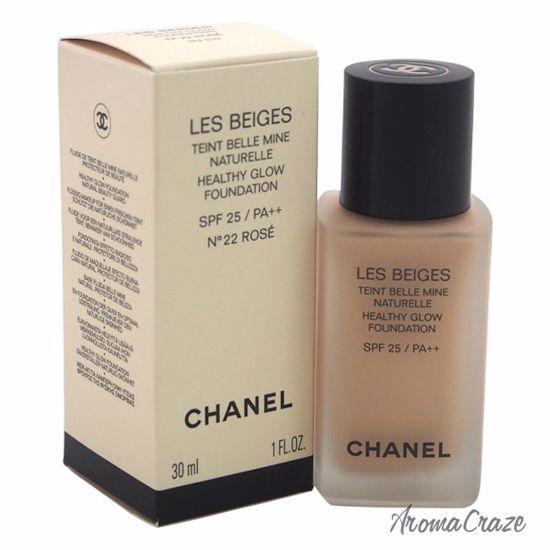 Chanel Les Beiges Healthy Glow Foundation SPF 25 No. 22 Rose for Women 1 oz 5cd65ab1ec