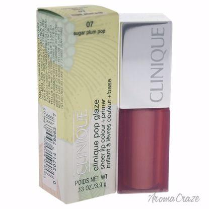 Clinique Pop Glaze Sheer Lip Colour + Primer # 07 Sugar Plum