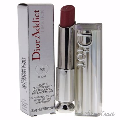 Christian Dior Addict Lipstick # 260 Bright for Women 0.12 oz - Lip Makeup | Lip Makeup Products | Best Lipsticks Colors | Lip Cosmetics | Lipsticks and Lip Colors | Lip Gloass | Best Lipsticks Brands | Make up cosmetics | AromaCraze.com