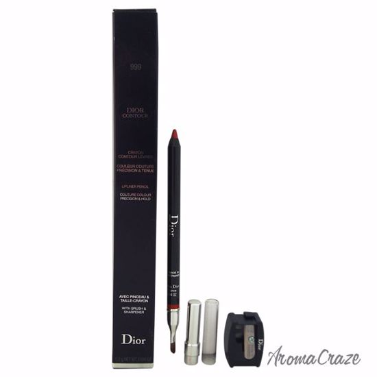 8e020ec3 Dior by Christian Dior Contour Lip liner Pencil # 999 Rouge Dior Lip Liner  for Women 0.04 oz