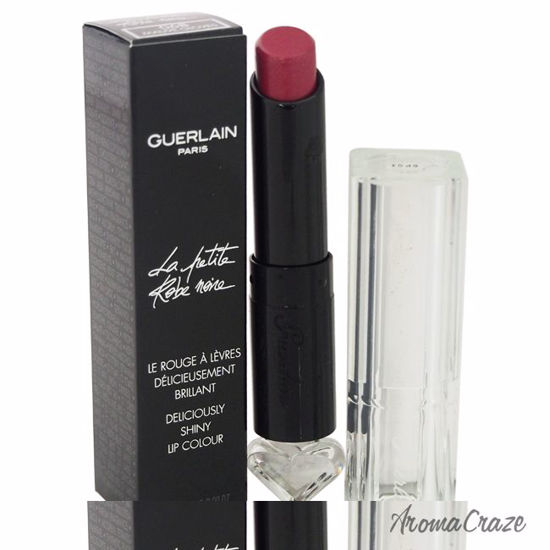 Guerlain La Petite Robe Noire Deliciously Shiny Lip Colour # 068 Mauve Gloves Lipstick for Women 0.09 oz