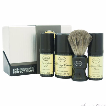 The 4 Elements of The Perfect Shave Mid-Size Kit - Unscented