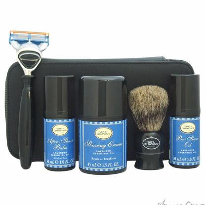 Travel Kit - Lavender by The Art of Shaving for Men - 7 Pc K