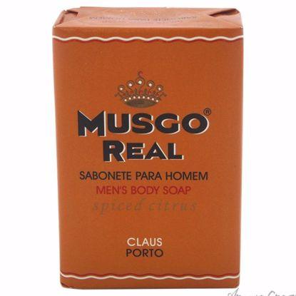 Musgo Real Spiced Citrus Soap by Claus Porto for Men - 5.6 o