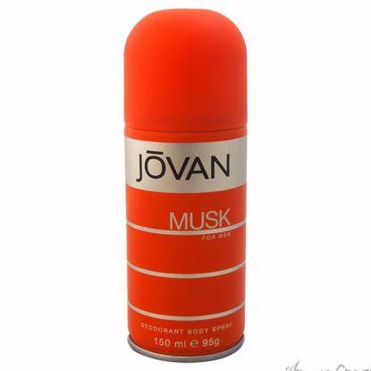 Jovan Musk by Jovan for Men - 5 oz Deodorant Body Spray