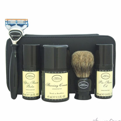 Travel Kit - Unscented by The Art of Shaving for Men - 7 Pc