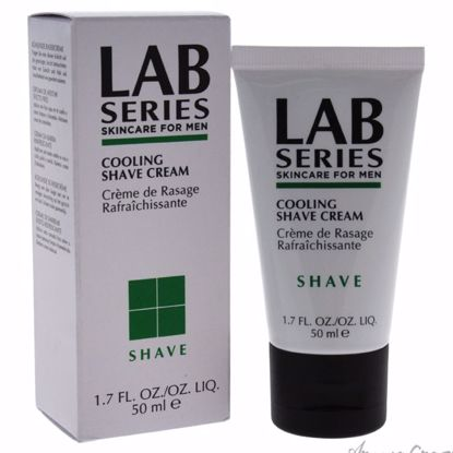Cooling Shave Cream by Lab Series for Men - 1.7 oz Shave Cream - After shave for men | Best Mens After Shave | Best Aftershave Splash | Aftershave Lotion | All Natural Skin care | AromaCraze.com