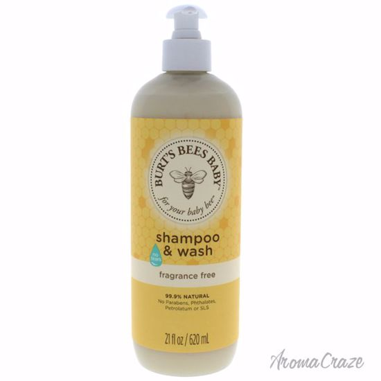 Baby Bee Shampoo & Wash Fragrance Free by Burts Bees for Kid