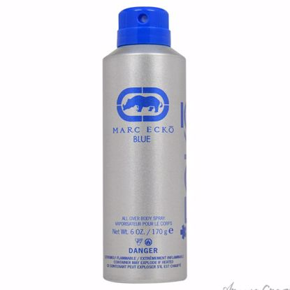 Ecko Blue by Marc Ecko for Men - 6 oz Body Spray - Deodorants | Antisperspirants | Deodorants Sticks | Deodorants Roll On | Best Deodorants For Men | Deodorants Spray | Top Brands Deodorants | Deodorants and Antiperspirants | Best deodorant for sensitive skin | AromaCraze.com