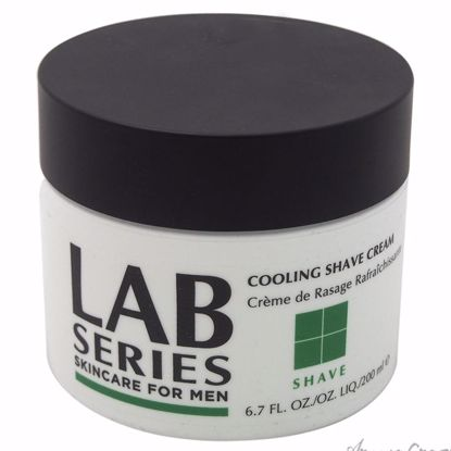 Cooling Shave Cream by Lab Series for Men - 6.7 oz Shave Cream - After shave for men | Best Mens After Shave | Best Aftershave Splash | Aftershave Lotion | All Natural Skin care | AromaCraze.com