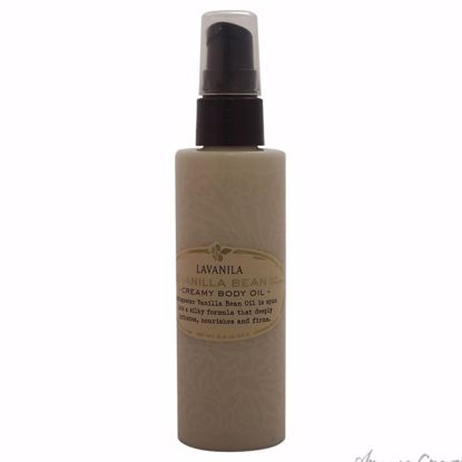 Vanilla Bean Creamy Body Oil by Lavanila for Women - 3.4 oz
