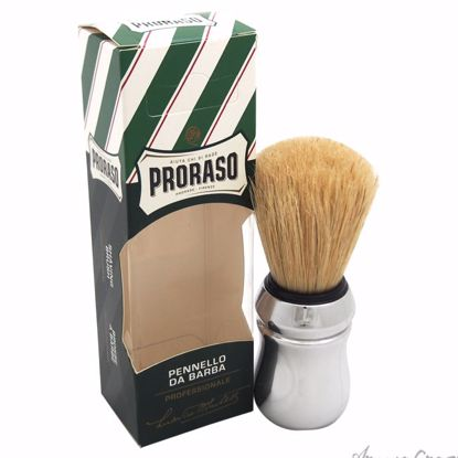 Professional Shaving Brush by Proraso for Men - 1 Pc Shaving