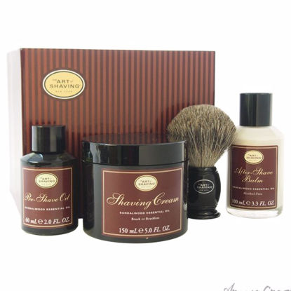 The 4 Elements of The Perfect Shave Kit - Sandalwood by The