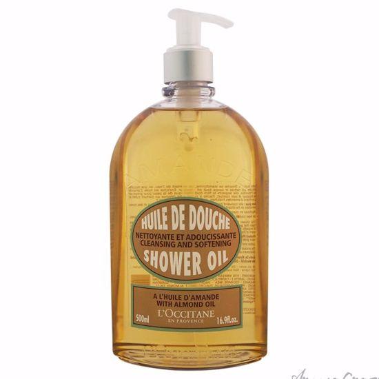 Almond Shower Oil by LOccitane for Unisex - 16.9 oz Shower O