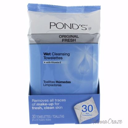 Original Clean Wet Cleansing Towelettes by Ponds for Unisex