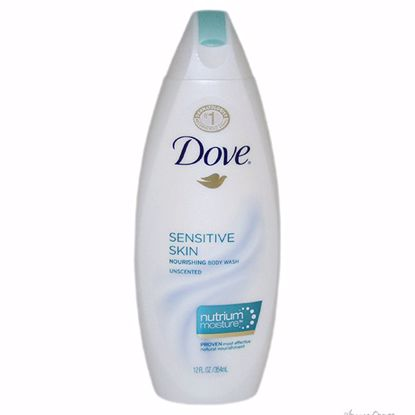 Sensitive Skin Nourishing Body Wash Unscented with NutriumMo