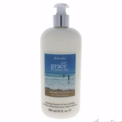 Pure Grace Summer Surf by Philosophy for Women - 16 oz Clean