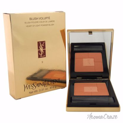 Blush Volupte Heart of Light Powder Blush - # 9 by Yves Saint Laurent for Women - 0.31 oz Blush - Face Makeup Products | Face Cosmetics | Face Makeup Kit | Face Foundation Makeup | Top Brand Face Makeup | Best Makeup Brands | Buy Makeup Products Online | AromaCraze.com