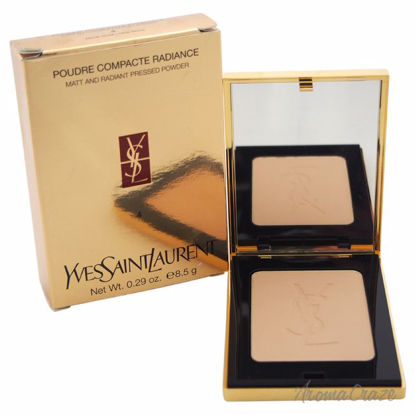 Poudre Compacte Matt & Radiant Pressed Powder - # 04 Gold Beige by Yves Saint Laurent for Women - 0.35 oz Powder - Face Makeup Products | Face Cosmetics | Face Makeup Kit | Face Foundation Makeup | Top Brand Face Makeup | Best Makeup Brands | Buy Makeup Products Online | AromaCraze.com