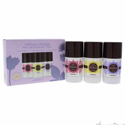 Freshly Picked Mini Deodorant Trio by Lavanila for Women - 3