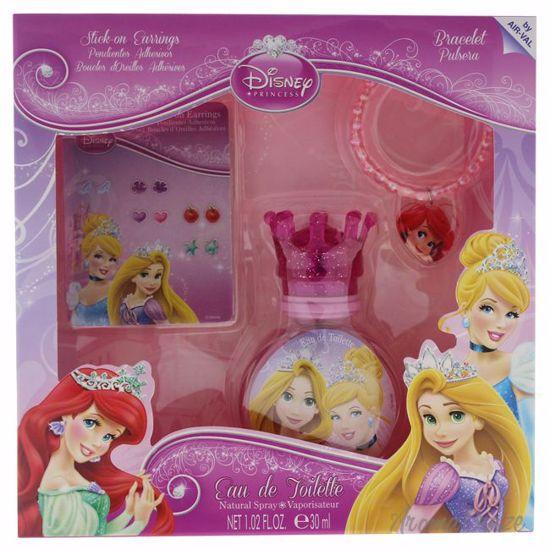 Disney Princess by Disney for Kids - 3 Pc Gift Set 1.02oz ED