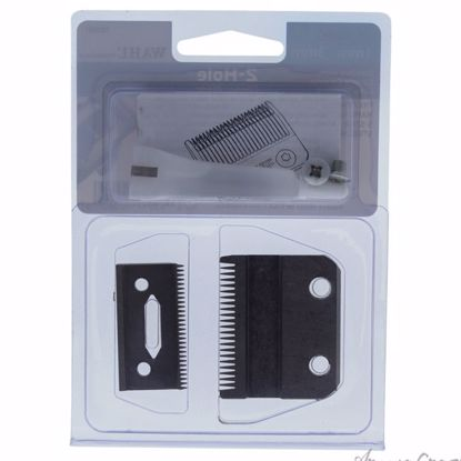 2-Hole Clipper Blade - Model # 1006 by WAHL Professional for Men - 1 Pc Clipper Blade - Hair Cut Tools   Hair Styling Products   Hair Styling Tool   Hair Cutting Tools   Hair Cutting Scissors   Hair Dressing Tools   Hair Products   AromaCraze.com