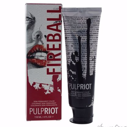 Semi-Permanent Color Fireball - Red by Pulp Riot for Unisex