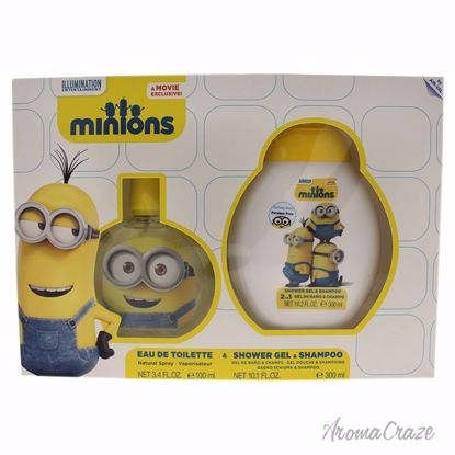 Minions by Air-Val International for Kids - 2 Pc Gift Set 3.