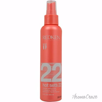 Hot Sets 22 Thermal Setting Mist by Redken for Unisex - 5 oz Mist - Hair Styling Products | Hair Styling Cream | Hair Spray | Hair Styling Products For Men | Hair Styling Products For Women | Hair Care Products | AromaCraze.com